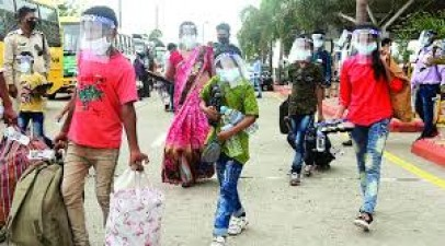 Migrant laborers returning from Delhi in Bihar will have to stay here for a few days
