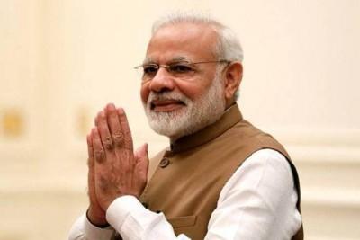 ''Modi' name has a mantra': MP CM praises PM as govt completes a year