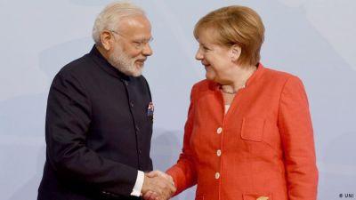 दिल्ली पहुंची जर्मनी की चांसलर एंजेला मर्केल, आज पीएम मोदी से करेंगी मुलाकात