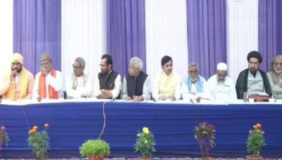 Meeting on Union Minister Naqvi's residence, RSS and Muslim religious leaders to discuss Ayodhya matter