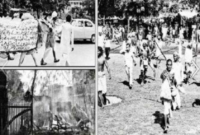 आज से 53 साल पहले साधु-संतों के खून से लाल हुआ था संसद भवन परिसर, इंदिरा सरकार ने चलवाई थी गोलियां