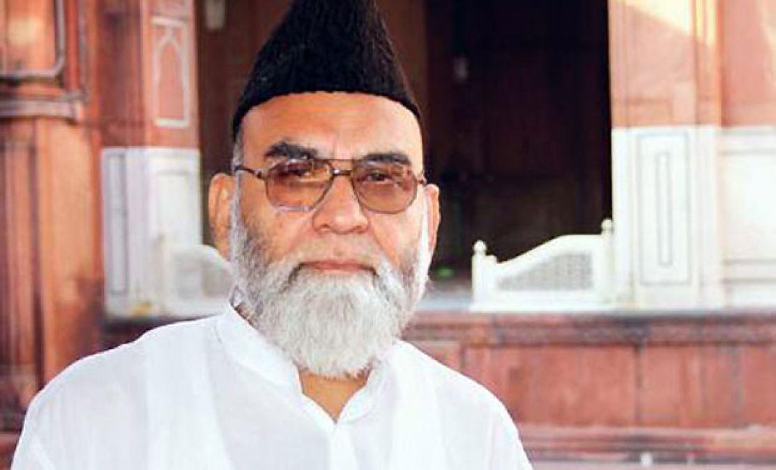 अयोध्या मामला: सुप्रीम कोर्ट के फैसले पर जामा मस्जिद के शाही इमाम बुखारी का बड़ा बयान