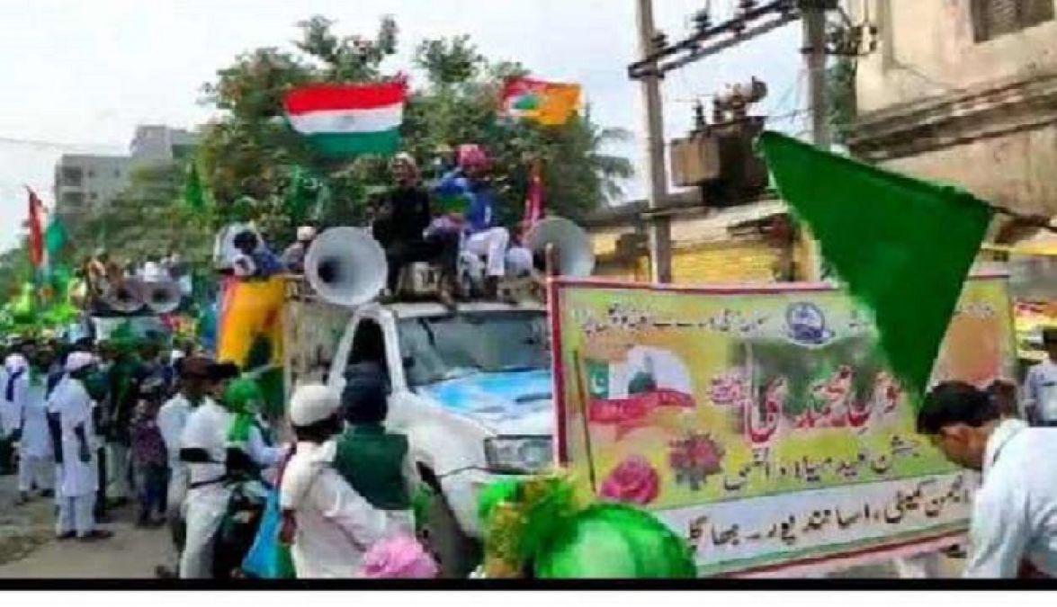 बिहार में मनाया गया यौम-ए-पैदाइश का जश्न, मुस्लिम समुदाय ने निकाले जुलुस