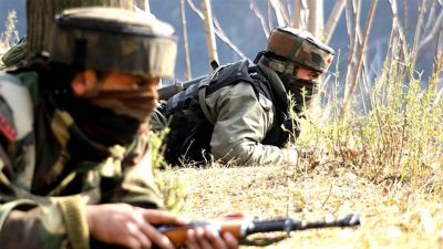 Pak fired mortar on military bases in Poonch