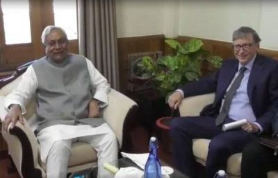 Bihar: CM Nitish Kumar meets Bill Gates, discusses these sectors