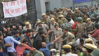 Section 144 applied for demonstration of students in JNU, around 1200 policemen deployed
