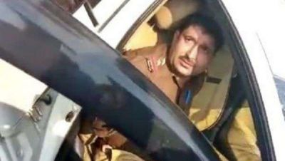 Meerut: Crime Branch Inspector killed an old man by hitting him with his car