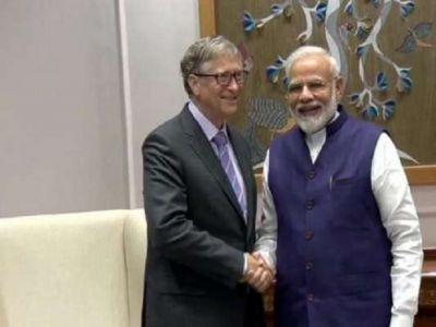 पीएम मोदी से मिले बिल गेट्स, पहले नितीश कुमार से कर चुके हैं मुलाकात