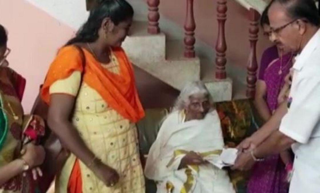 bhagirathi amma passed away