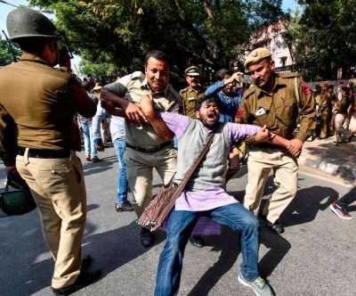 ABVP: Tight security arrangements in university campus, preparation for demonstration today