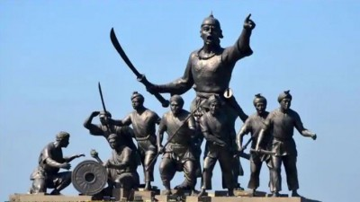 Amit Shah pays tribute to Lachit Borphukan who fought against Mughals in the battle of Saraighat