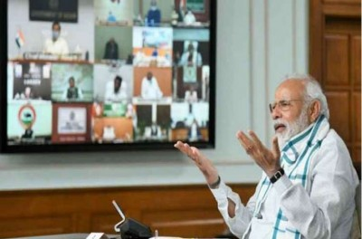 PM Modi in meeting with Chief Ministers says, 'Some people doing politics on corona vaccine'