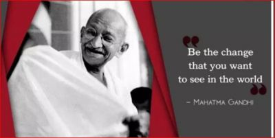 Adopt these inspiring ideas of Mahatma Gandhi to live a happy and successful life