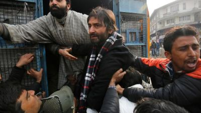 Isolationist leader Yasin Malik to be present in court today, accused of killing Air Force officers