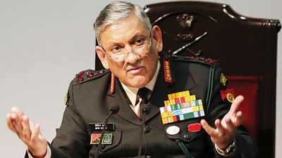 Army Chief's statement, Indian Army is fighting war in Kashmir every day,