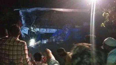मध्यप्रदेश: पुल की रैलिंग तोड़कर नदी में जा गिरी यात्री बस, 6 की मौत, कई घायल