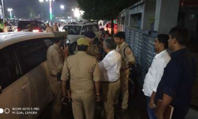 Prayagraj: One crore sixty lakh rupees stolen from cash van, police engaged in investigation