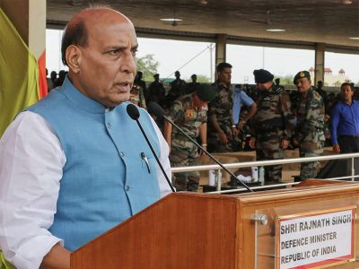 Rajnath Singh's big statement on corruption in the defence sector, says this