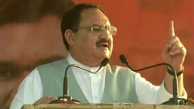 JP Nadda's big statement about intruders, says, 'India is a country, not Dharamshala'