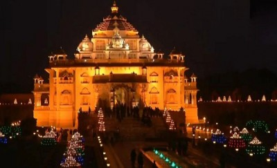 Akshardham temple of Delhi will open from October 13, these rules to be followed