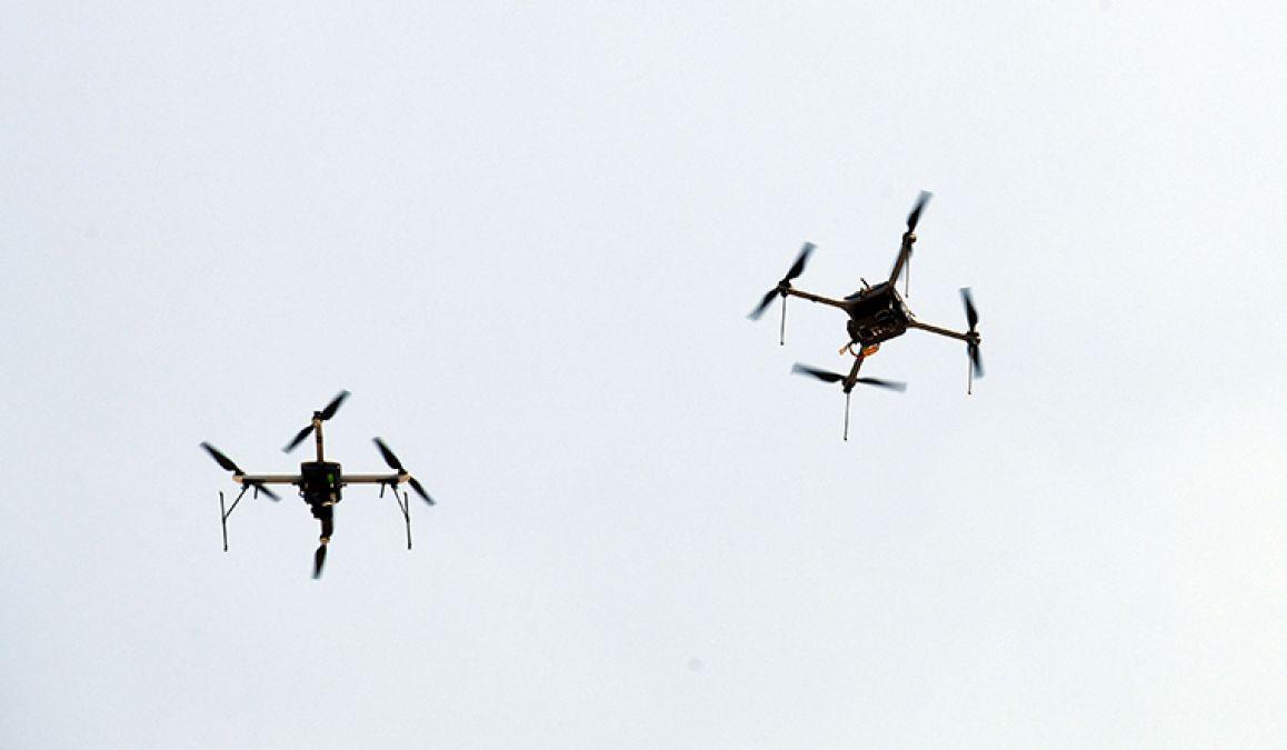 फिर भारतीय सीमा में दाखिल हुआ पाकिस्तानी ड्रोन, अलर्ट पर सुरक्षाबल