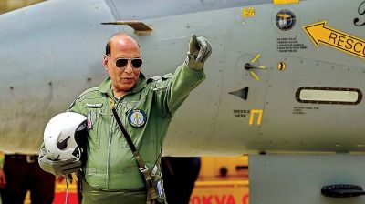 India will get its first Rafale jet at 4:30 pm, Defense Minister Rajnath Singh will fly