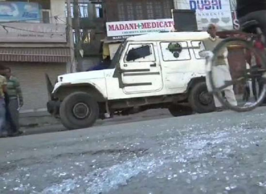 Jammu and Kashmir: Grenade attack in the middle of Srinagar, three injured