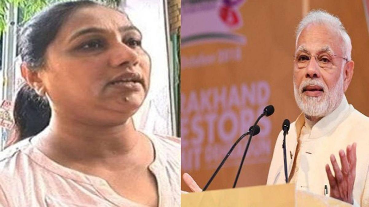 दिल्ली में पीएम मोदी की भतीजी से लूट, पर्स छीनकर फरार हुए बदमाश