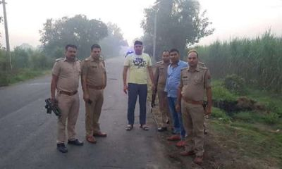 Two arrested in encounter between cow smugglers and police