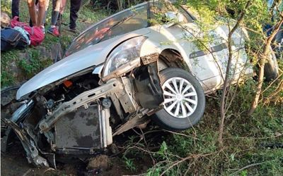 Tragic road accident in Hoshangabad, four national level hockey players died