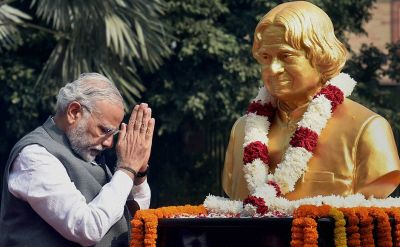 PM Modi pays tribute to former President and great scientist Abdul Kalam