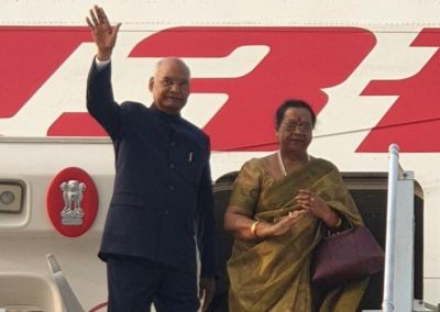 President Ramnath Kovind leaves for Philippines and Japan