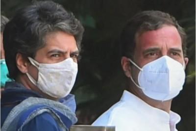 Rahul-Priyanka targets Yogi government over increasing crime with women