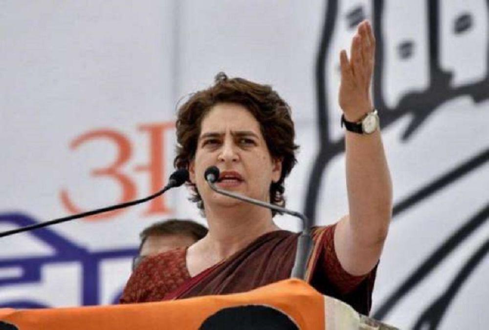 Priyanka Gandhis attack on Piyush Goyal, says
