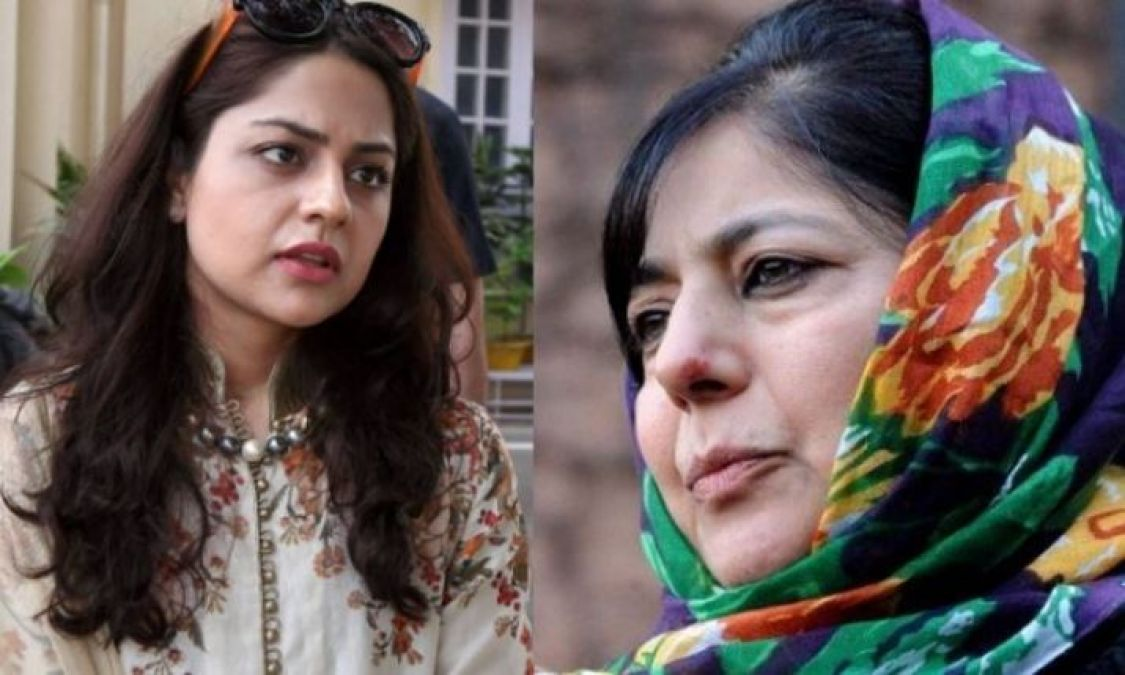 Jammu and Kashmir: Mehbooba Muftis brother and daughter visited