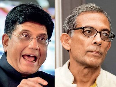 Piyush Goyal attacks Nobel laureate Abhijit Banerjee, says, 'India rejected his 'NYAY scheme'