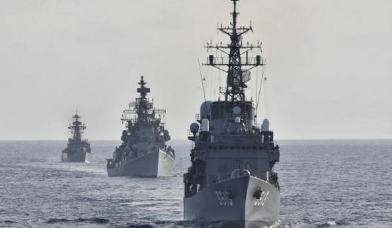 भारतीय जंगी जहाज़ों के साथ युद्धाभ्यास करेगा ऑस्ट्रेलिया, चीन को लगेगी मिर्ची