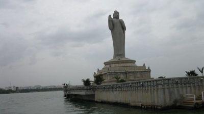 गूगल मैप पर हुसैन सागर झील बनी जय श्री राम झील, मचा हड़कंप