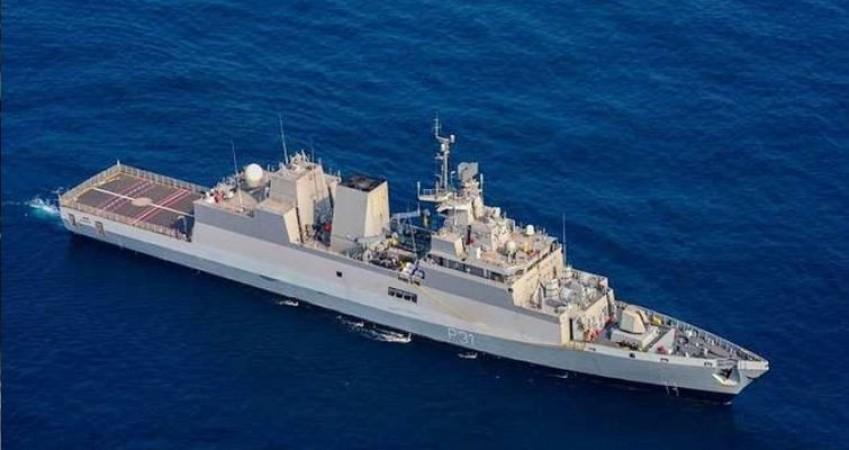 आज नौसेना को मिलेगा 'मेड इन इंडिया' स्टील्थ युद्धपोत 'INS कवरत्ती', जानिए इसकी खासियत