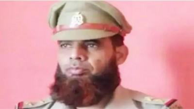 UP police's SI Intasar Ali suspended for not shaving beard despite three warnings