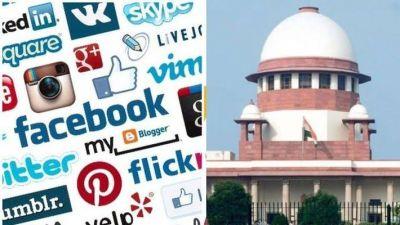 सरकार ने सुप्रीम कोर्ट में कहा, सोशल मीडिया से लोकतंत्र को खतरा