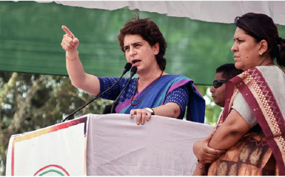 Priyanka's attack on the new design of Parliament House, said- the government is filling the pockets of its friends