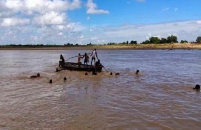 Tragic accident in Bengal, 5 people died due to boat overturns