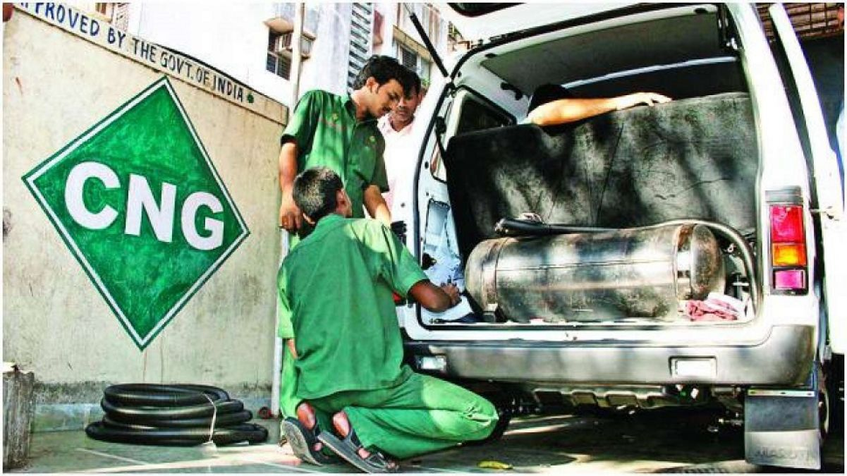 CNG price rises in Delhi NCR, know the new price