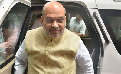 Amit Shah expressed his concern over the meeting with Interpol Secretary-General