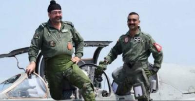 Wing Commander Abhinandan Varthaman flies MiG-21