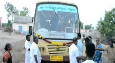 The bus arrived in this village of Tamil Nadu for the first time since independence, know what happened next!