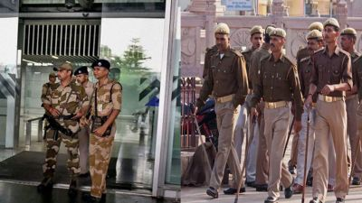 Not CISF but UP Police will take over the security of all the airports in the state