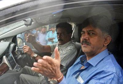 ED Arrests Karnataka Congress leader DK Shivakumar