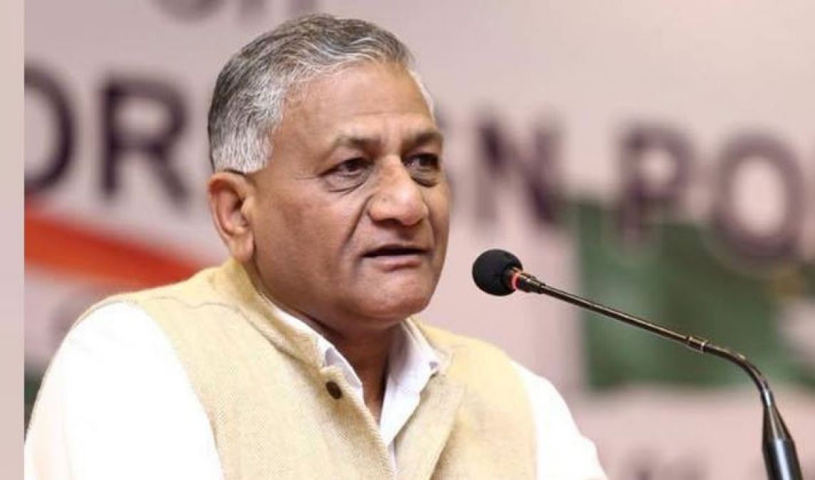 VK Singh lashes out at Pak army chief General Qamar Javed Bajwa